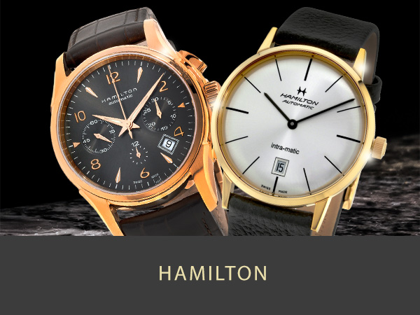 Shop Hamilton Mens and Womens watches