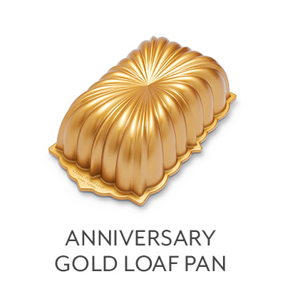 Anniversary Gold Loaf Pan