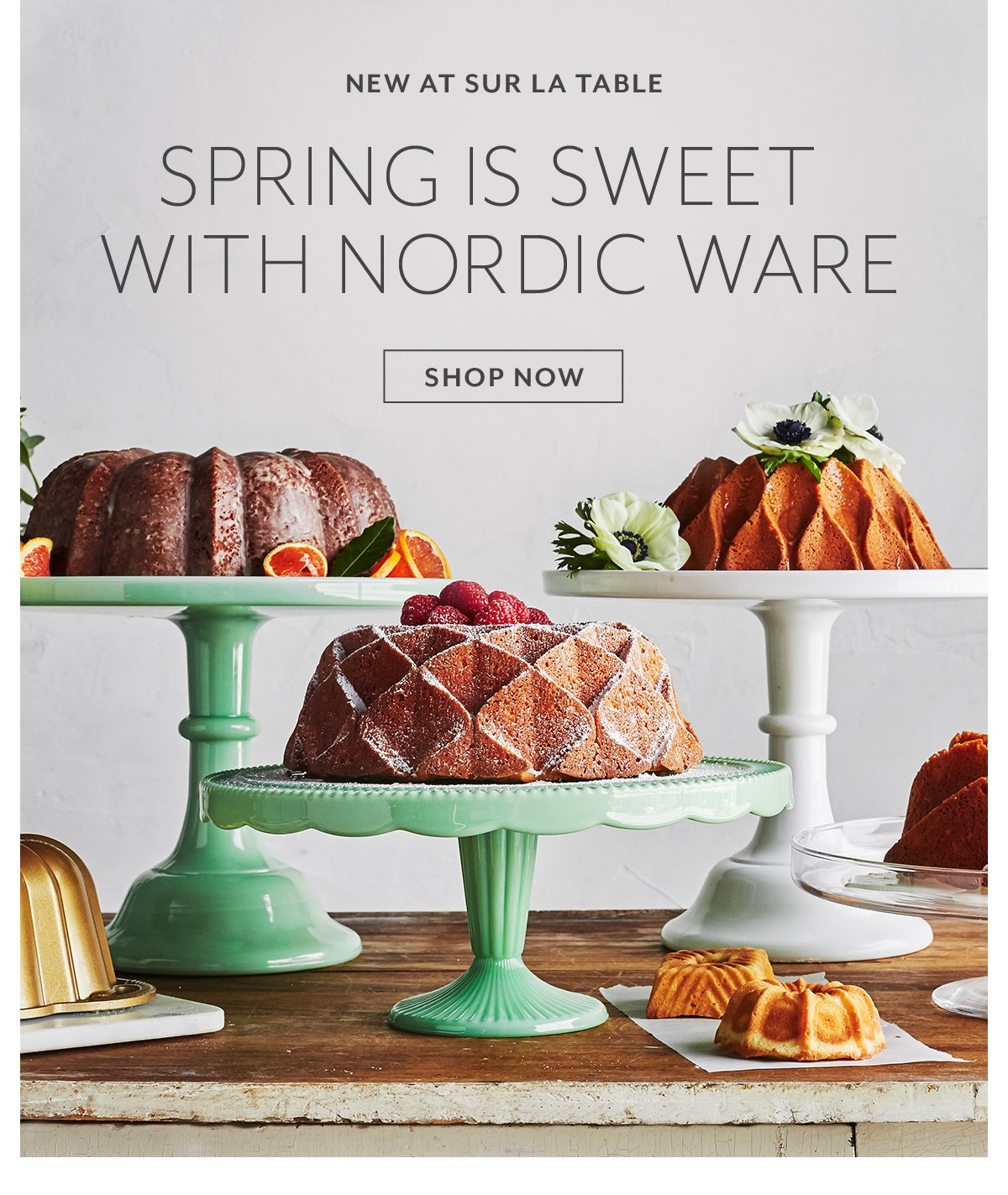 Spring is Sweet with Nordic Ware