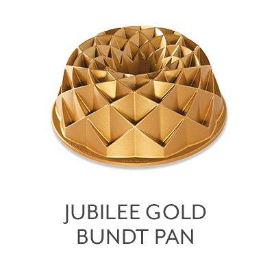 Jubilee Gold Bundt Pan