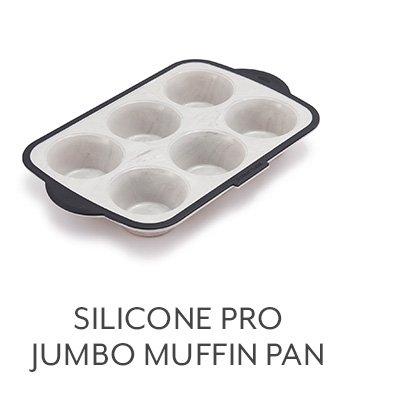 Silicone Pro Jumbo Muffin Pan