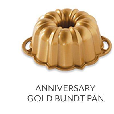 Anniversary Gold Bundt Pan