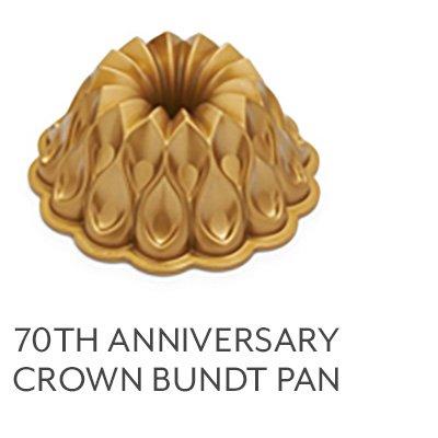 70th Anniversary Crown Bundt Pan