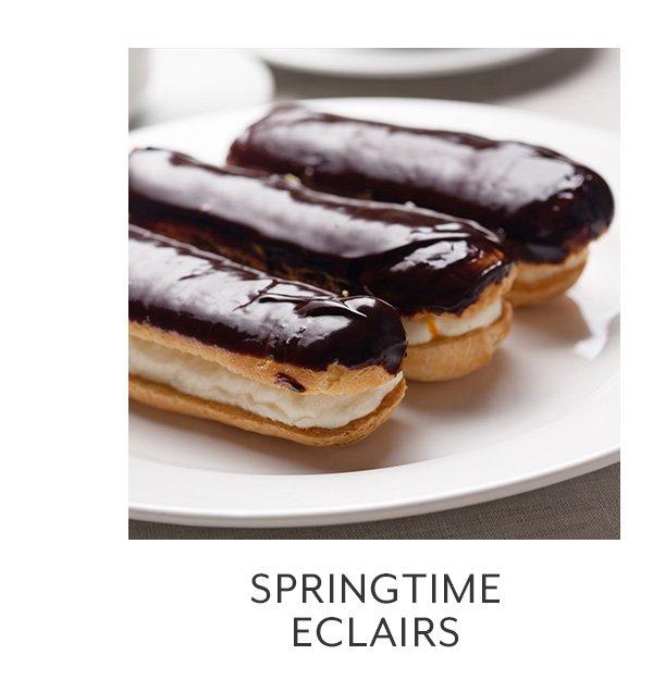 Class: Springtime Eclairs