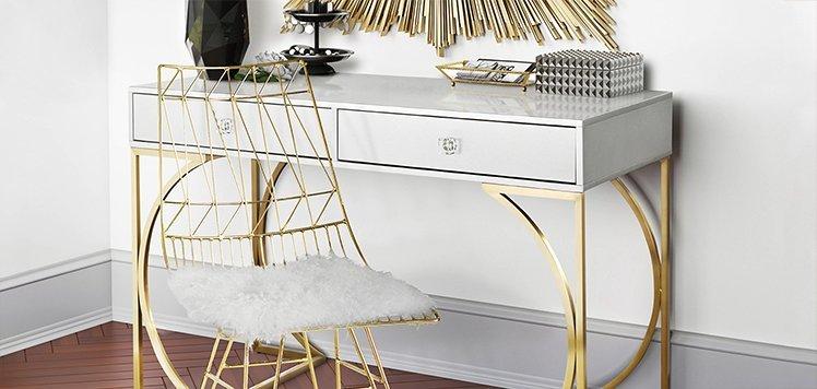 Go Glam: Furniture, Decor & More