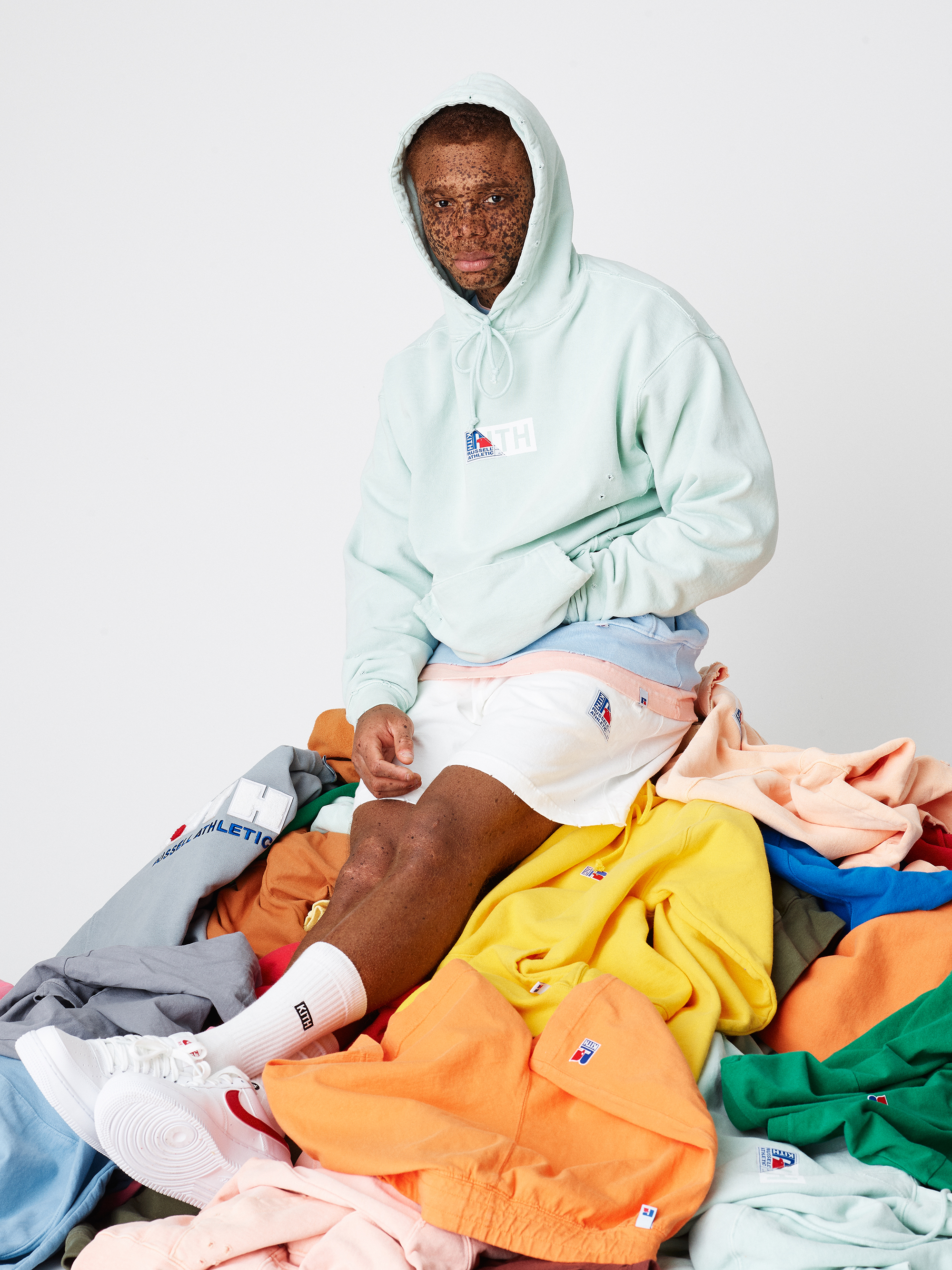 Image result for Kith x Russell Athletic