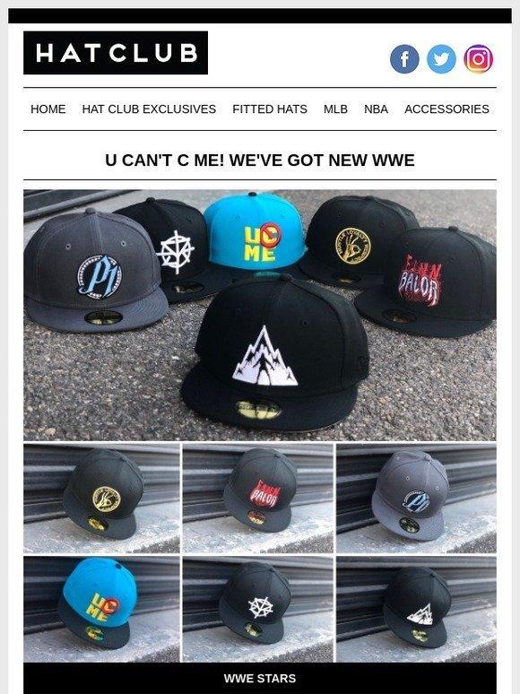 Hat Club: U Can't C Me! New WWE 💪 | Milled