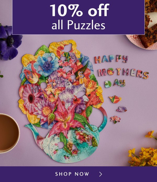 0ad77605056a Wentworth Wooden Puzzles: Perfect for a Mother's Day Treat - 10% off ...