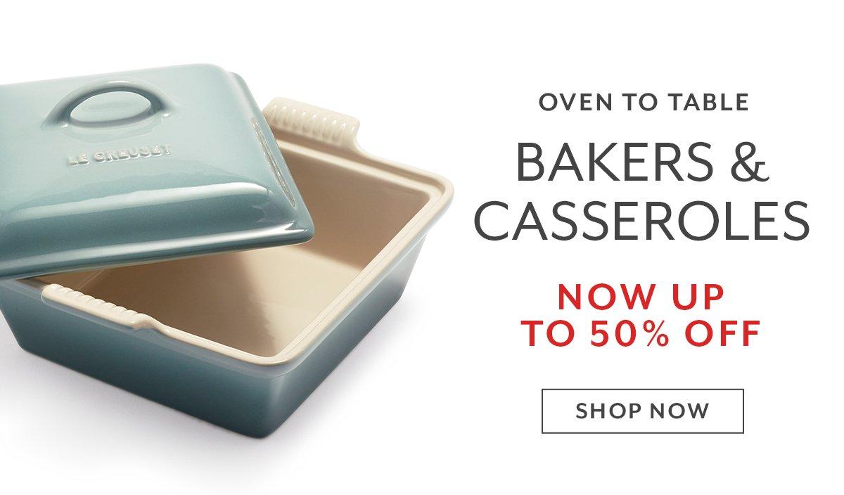 Bakers & Casseroles
