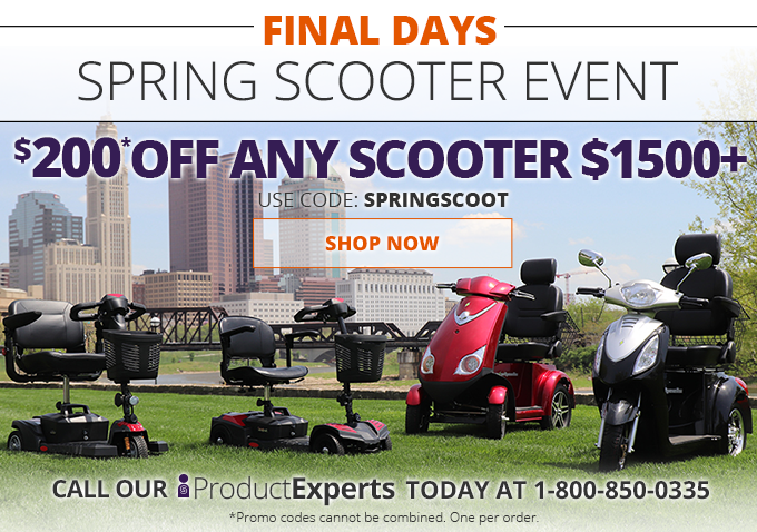 SpinLife com: Final Days - Scooter Savings Event! | Milled