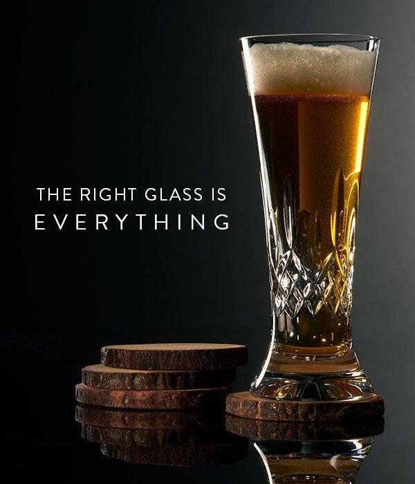 Lismore Pilsner/Tall Beverage, Pair