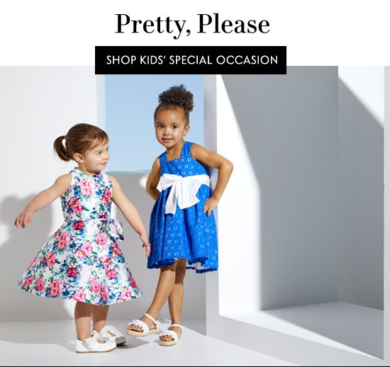 Shop Kids' Special Occasion