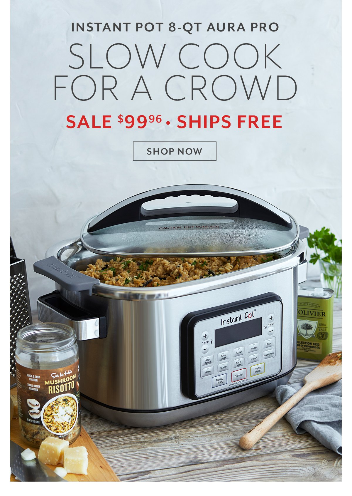 Instant Pot Aura Pro • Slow Cook for a Crowd