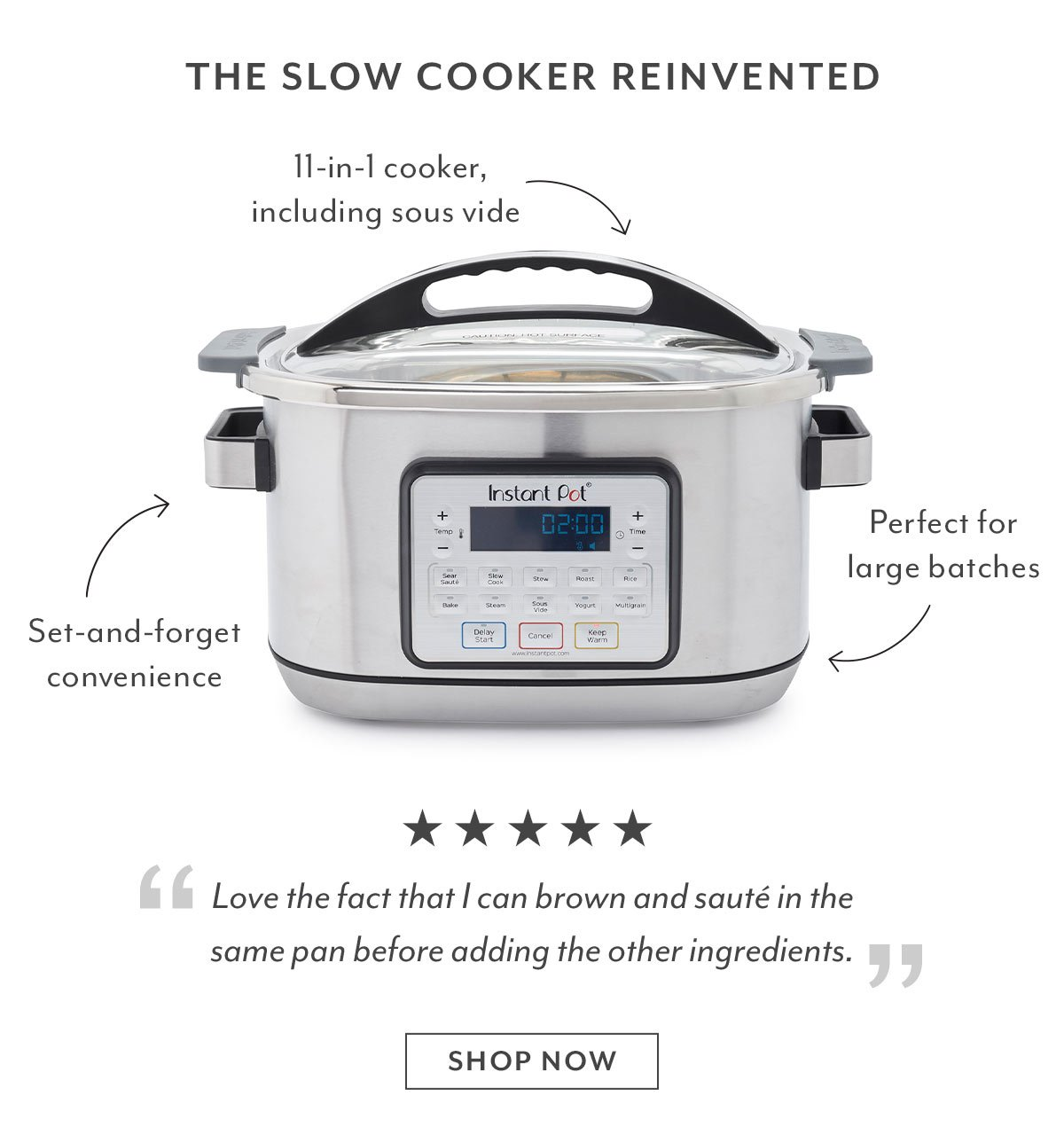 The Slow Cooker Reinvented