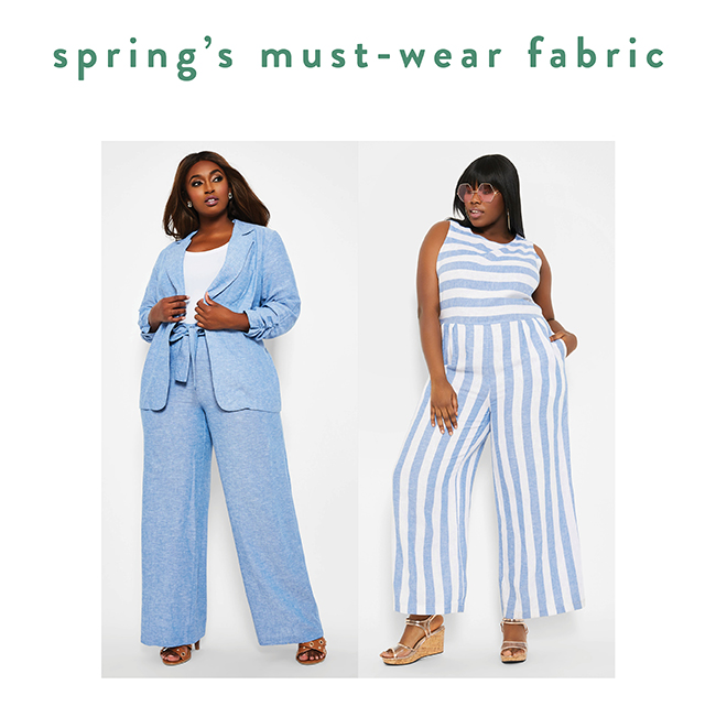 Spring's must wear fabric - Shop Now