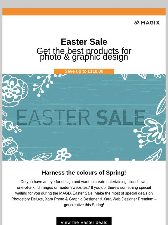 Magix Software Easter Sale Check Out Special Deals On Photostory Deluxe Xara Photo Graphic Designer Xara Web Designer Premium Milled