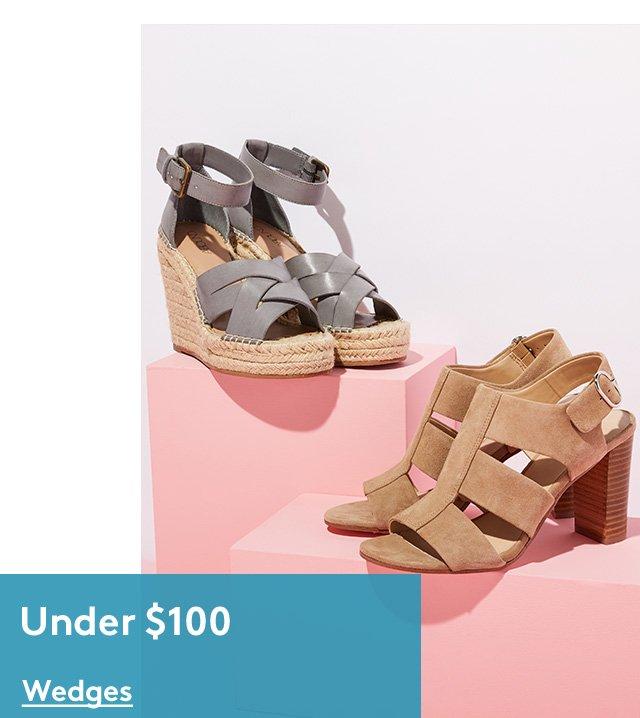 Under $100   Wedges