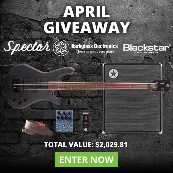 American Musical Supply: Win This Amazing Rig in Our April Giveaway