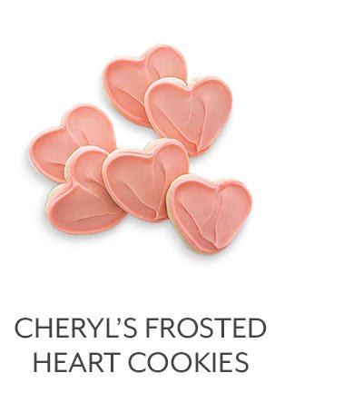 Cheryl's Frosted Heart Cookies