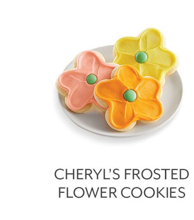 Cheryl's Frosted Flower Cookies