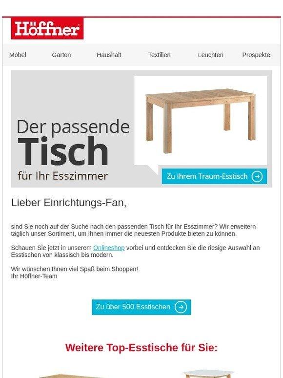 e408cc41518988 Möbel Höffner   Der passende Tisch für Ihr Esszimmer