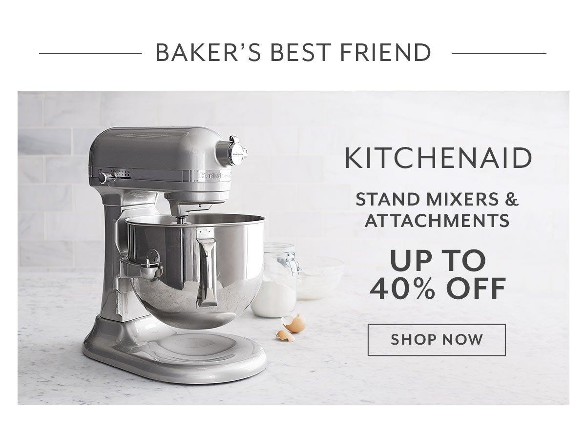 KitchenAid Stand Mixers & Attachments
