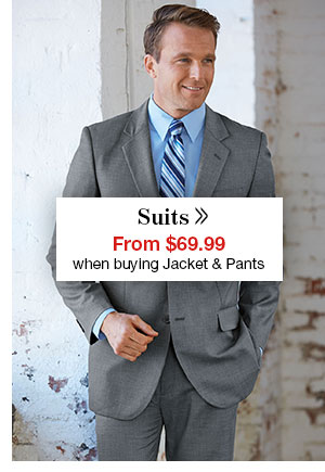 Shop Men's Suits!