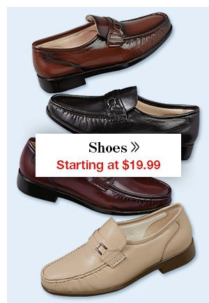Shop Men's Shoes!