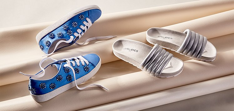 Fashion Sneakers & Pool Slides