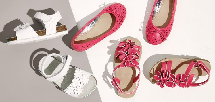 Break Out Their Summer Shoes