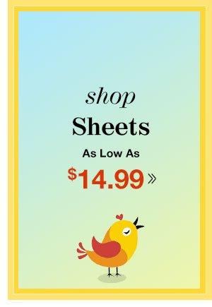 Shop Sheets!