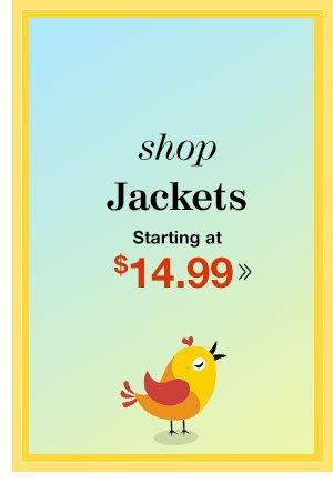 Shop Women's Jackets!