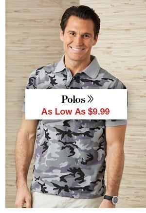 Shop Men's Polos!