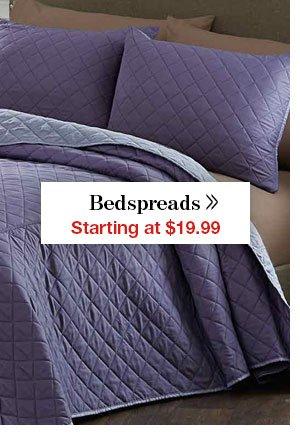 Shop Bedspreads!