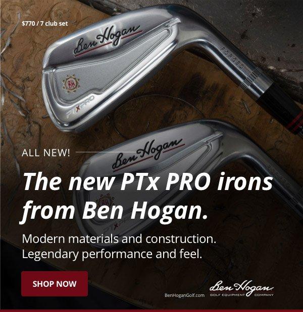 9556c807233 Ben Hogan Golf Equipment Company: The New PTx PRO irons from Ben ...
