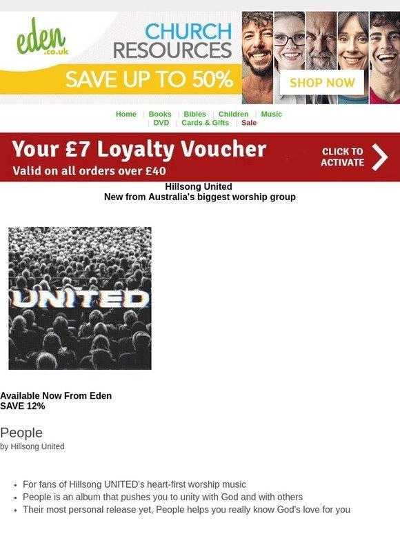 Eden: NEW Hillsong United | Your £7 Voucher | Milled