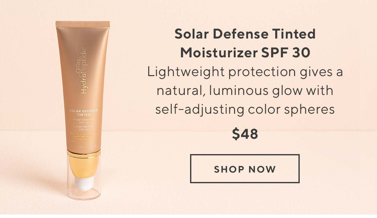 53bcf4cde11 HydroPeptide: FREE full-size Body Sunscreen + mini Tinted Sunscreen ...
