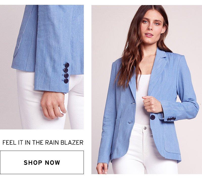 feel it in the rain blazer