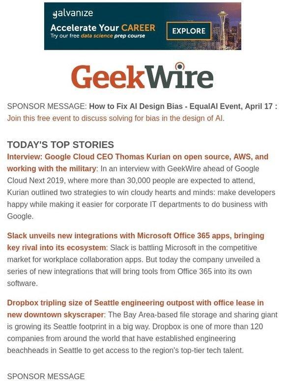 GeekWire: Dropbox will triple size of Seattle engineering