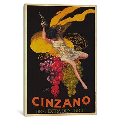 Asti Cinzano (Vintage) by Leonetto Cappiello Canvas Print