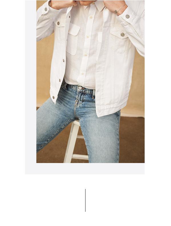 Men's White Jacket