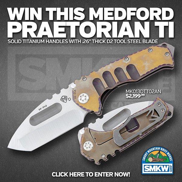 Click here to win a Medford Praetorian Ti!