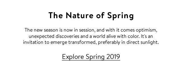 Explore Spring 2019
