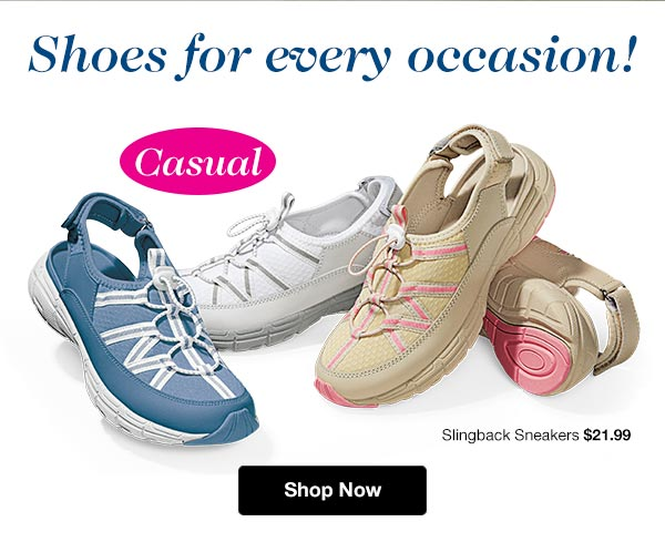Shop Casual Shoes on Sale!