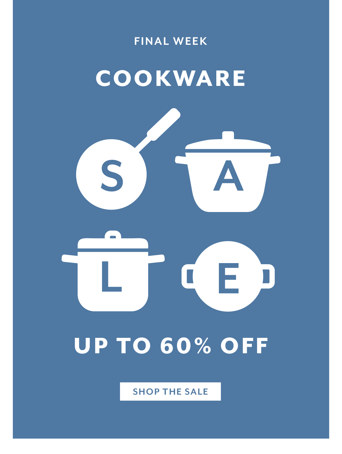 Cookware Sale