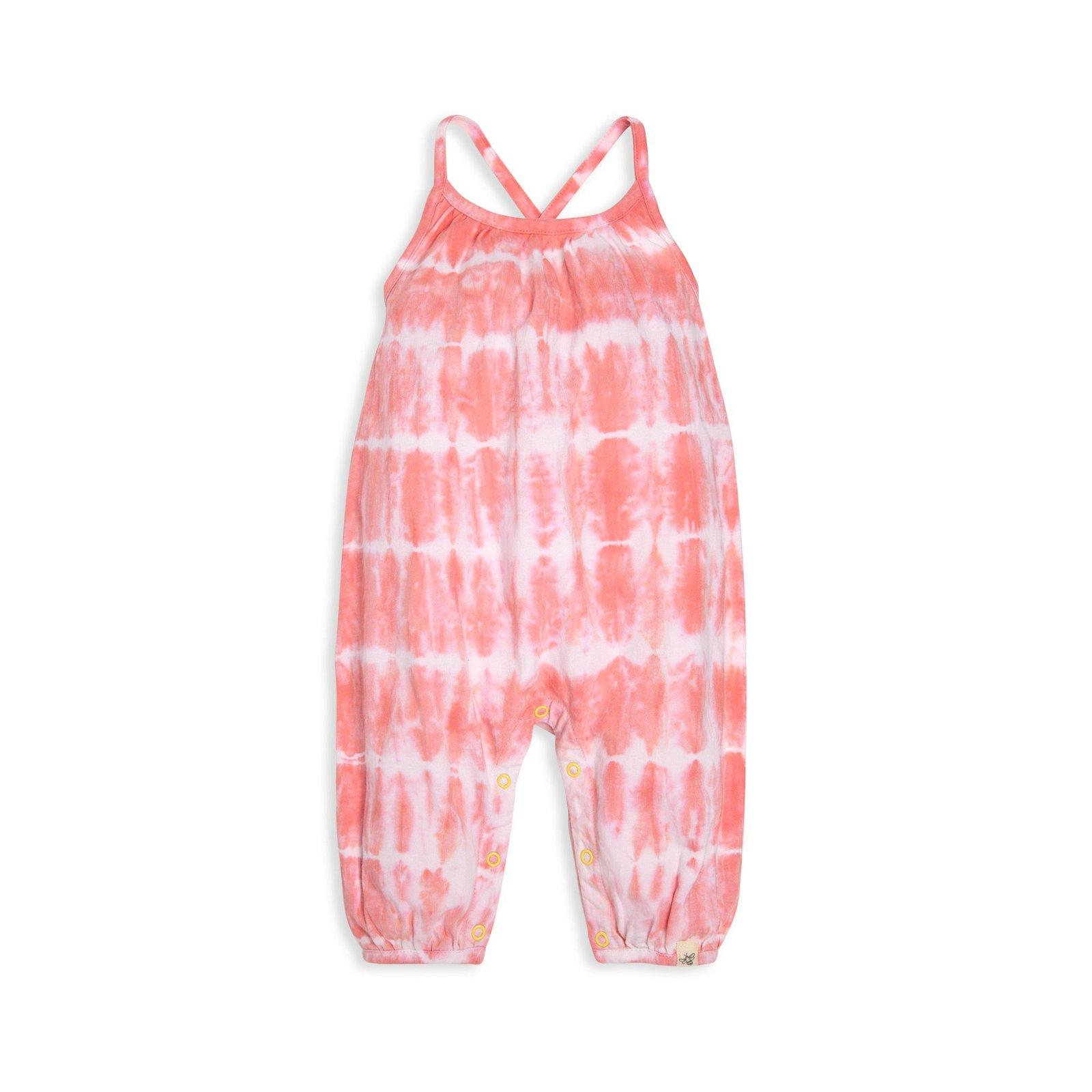 Tie-Dye Organic Baby Bubble Jumpsuit