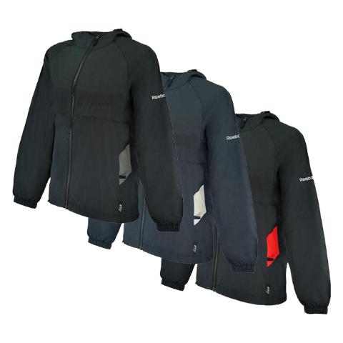4c0510cb2 Reebok Women s Express II Water-Resistant Wind Jacket