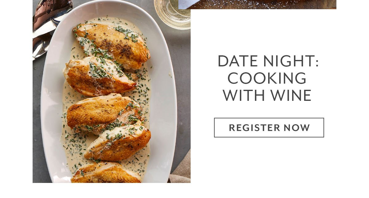 Class: Date Night • Cooking with Wine