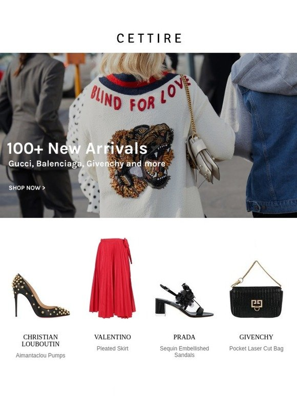 7b001d82 Cettire: 100+ New Arrivals: Gucci, Balenciaga, Givenchy and more | Milled