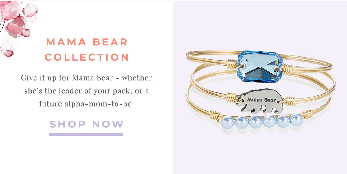 MAMA BEAR COLLECTION | Give it up for Mama Bear - whether she's the leader of your pack, or a future alpha-mom-to-be. | SHOP NOW